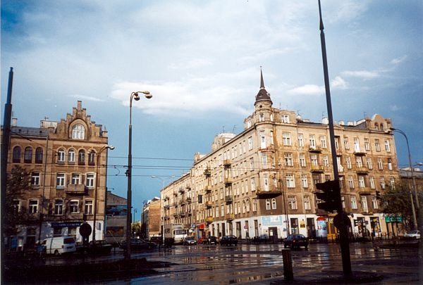 Ząbkowska St in 90s, Praga District, Poland