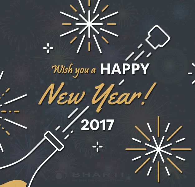 Every New Year gives you the perfect chance to start something new and fresh. So do your bit this year and make the world a better place for yourself and others.  Happy New Year 2017