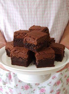Zoet & Verleidelijk: Brownies met glazuur