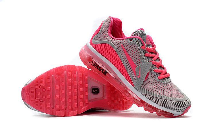 Nike Air Max 2017.5 Grey Pink Women Shoes 898013-060 - Fushoes