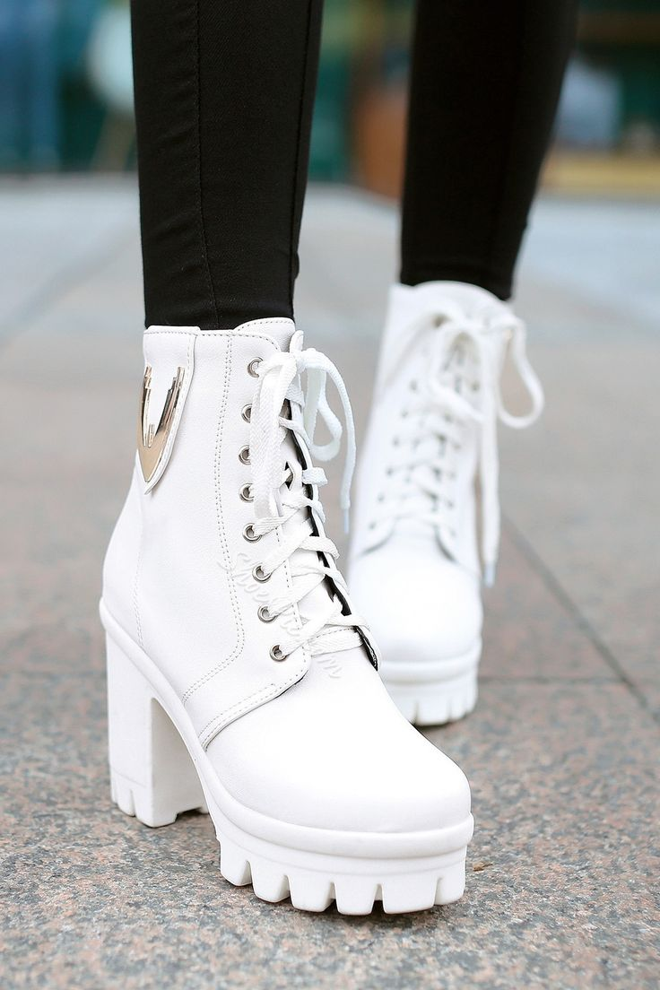 1000+ Ideas About Chunky Heel Boots On Pinterest