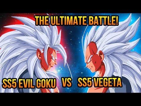 ssj5 Goku and vegeta