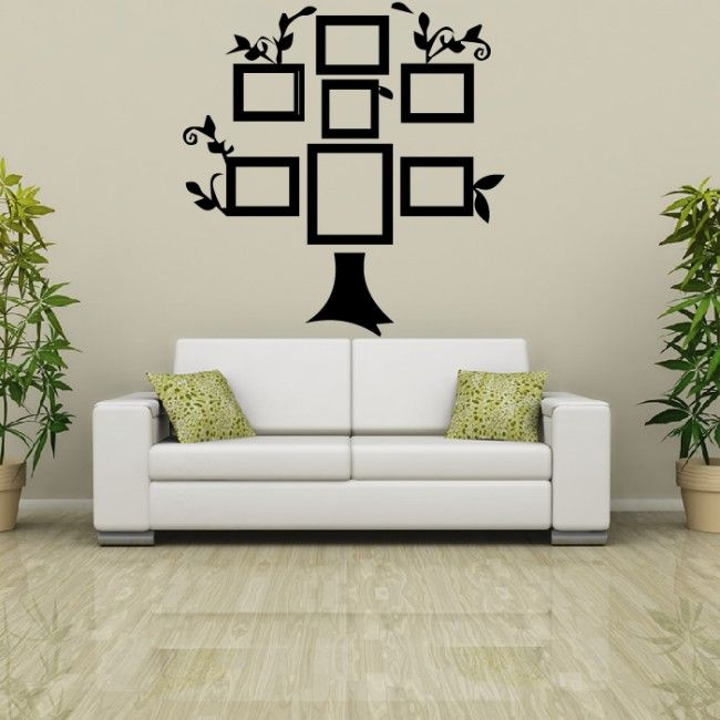 Photo Frame Family Tree Wall Sticker Family Wall Art Part 96