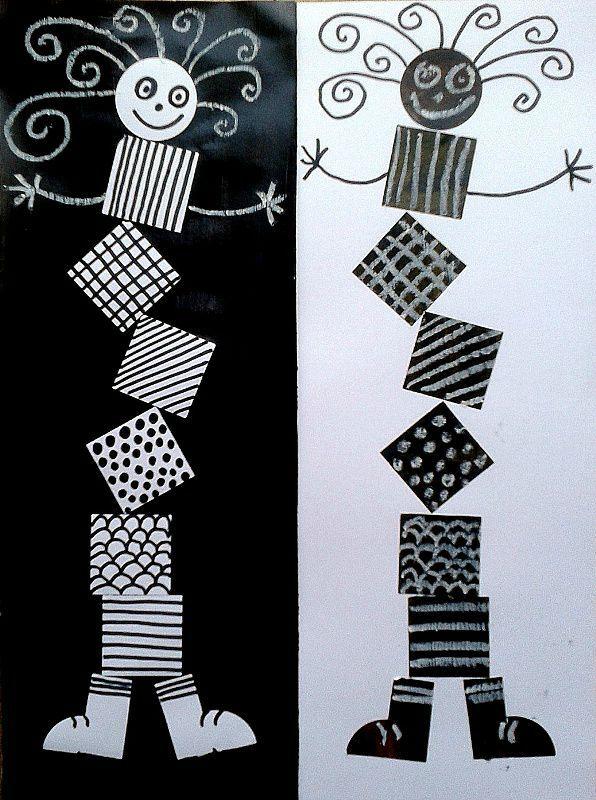 Les 25 meilleures id es de la cat gorie graphisme gs sur for Peintures en noir et blanc