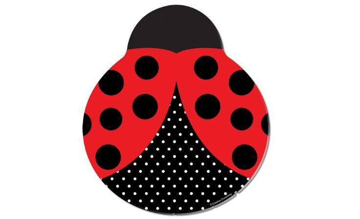 Ladybug Dinner Plates - 8 Pack