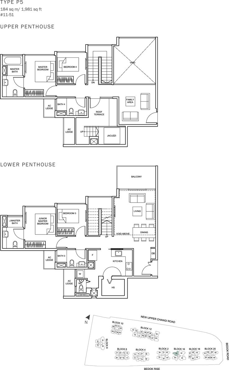 The Glades Condo Floor Plan - 4BR Penthouse - P5 - 184 sqm-1981 sqft.JPG