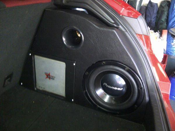 Civic Type R Sub Box 1 War S Sound Installs And Custom