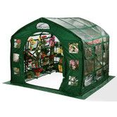Found it at Wayfair - FarmHouse 9 Ft. W x 9 Ft. D Clear PVC Greenhouse
