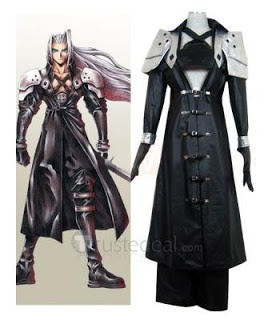 Final fantasy Sephiroth cosplay costume.
