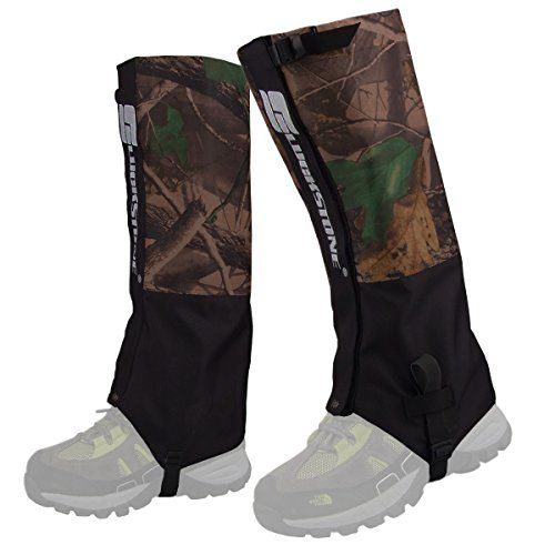 50% OFF SALE PRICE - $14.99 - HOPESOOKY Outdoor Waterproof Snow Leg Gaiters Velcro Wraps Shoes Boot Covers For Hiking Ski Climbing Hunting Walking