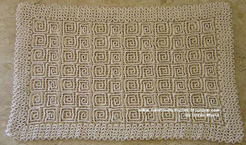Чудесные коврики своими руками для уюта в доме
