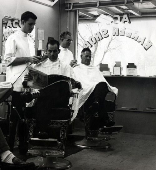 Barber Shop. My great grandfather and grandfather cut hair out of the back of their house.