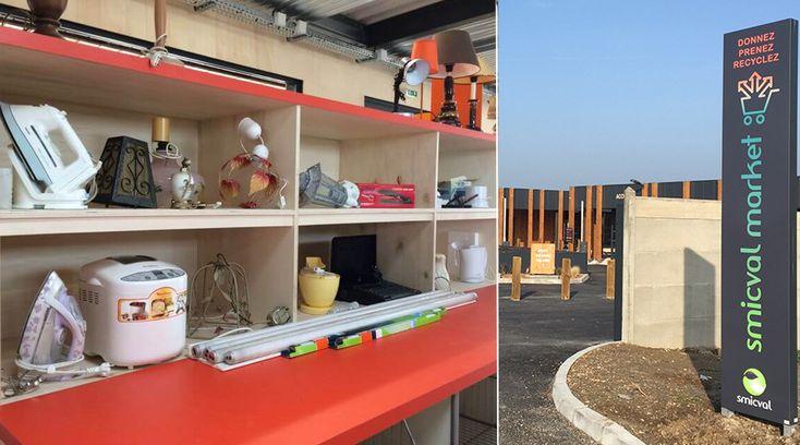 #Innovant : Smicval Market ou comment encourager la population au recyclage : http://www.bioalaune.com/fr/actualite-bio/36030/bordeaux-supermarche-redonne-vie-dechets