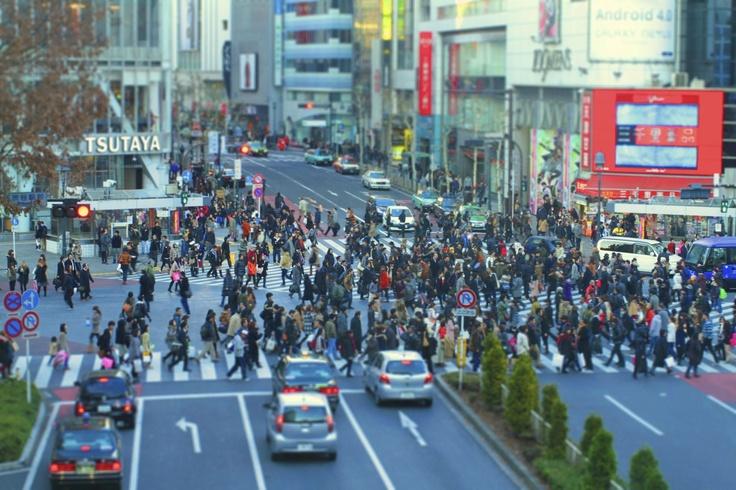 RKY×SCRAP: 渋谷 スクランブル交差点 Shibuya - Scrumble Intersections