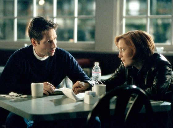 Wait, Is Fox Bringing Back The X-Files...AND Prison Break?! Gillian Anderson, Dana Scully, David Duchovny, Fox Mulder, The X-Files