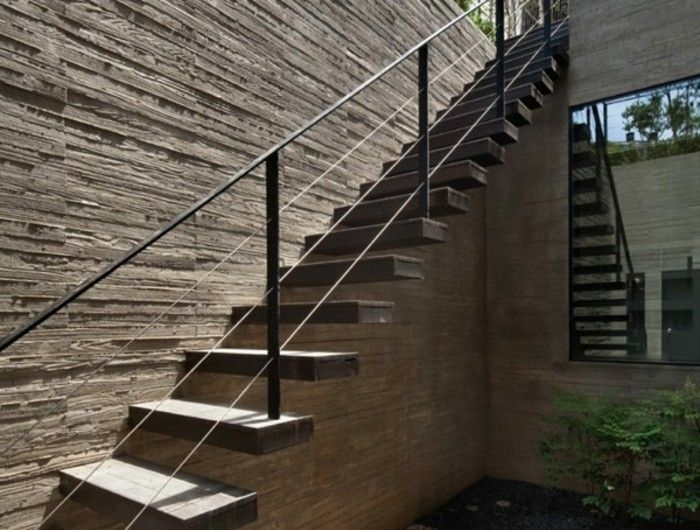 Best 25 Rambarde Escalier Exterieur Ideas On Pinterest Rampe Escalier Bois Rampes And Garde
