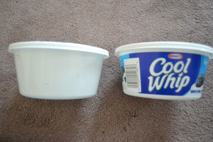 How To Take The Ink Off Plastic Food Containers   -   Being thrifty and reusing plastic food containers from the store is not new. But did you know that taking the ink off of an empty food container such as sour cream or whipped cream is easy. You can then use the plain container to give a food gift or for a craft project, or for storage containers you can label yourself.