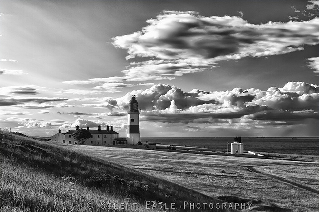 Souter Lighthouse, Whitburn (B) by Silent Eagle  Photography, via Flickr