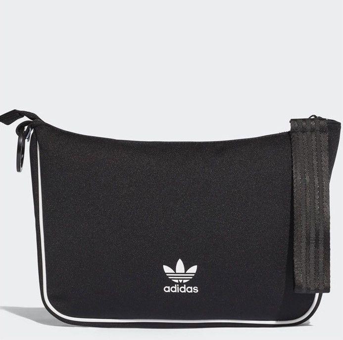 fe0fb5e700 adidas Originals NMD Pouch Cross Body Bag Black Zipper 3 Stripes Golf CE5687   adidas  CrossBodyBag