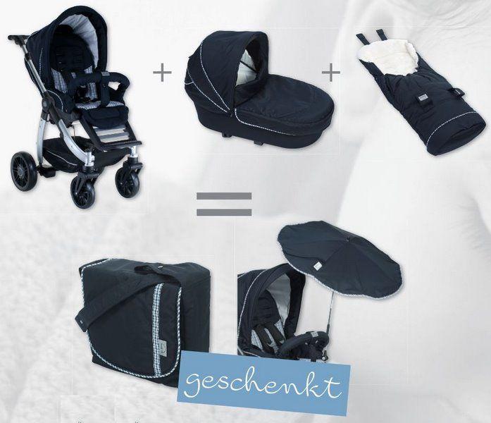 Nur noch bis zum 20. Juni 2015 - die #Teutonia Sommeraktion! Kaufen Sie einen Teutonia #Kombi #Kinderwagen und einen #Fußsack und erhalten Sie dazu #GRATIS die passende #Pflegetasche und den #Sonnenschirm.