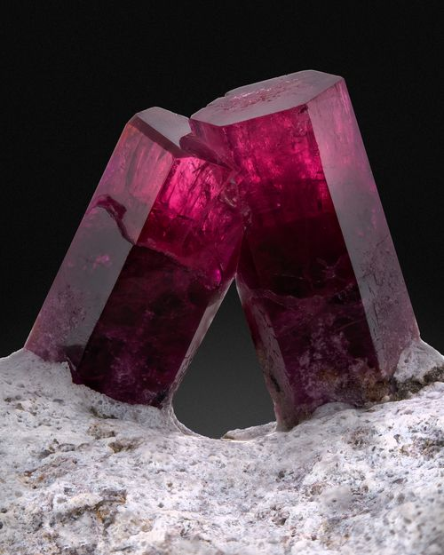 Red Beryl - Utah - Private Collection