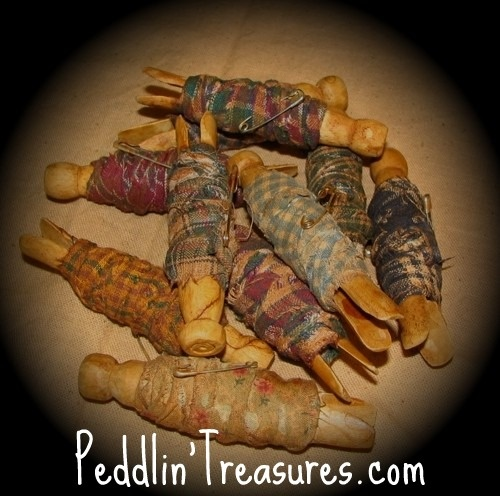 prim clothespins: Primitive Bowls, Clear Jars, Prim Clothespins, Country Primitive, Bowls Fillers, Primitive Crafts, Worry Dolls, Pin Dolls, Mason Jars