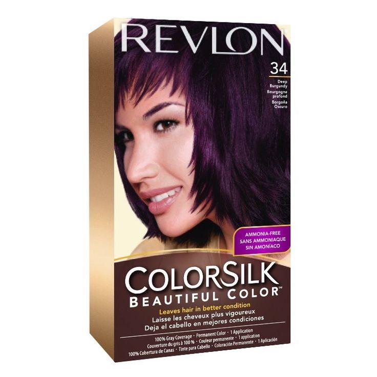 Deep Burgundy Hair Color Revlon Dark Hair Colors My