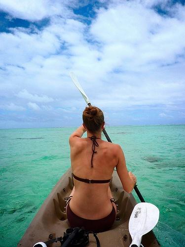 Dreaming of doing this- Aitutaki, Cook Islands