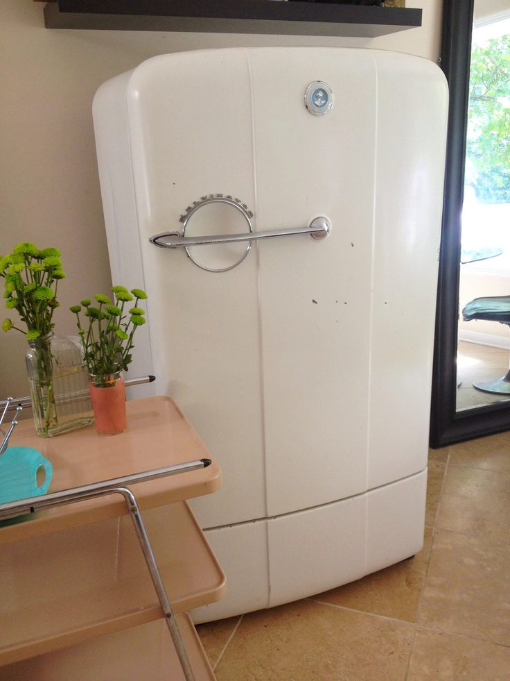 1950s Refrigerator 51 Best Retro I Want Images Kitchens Dream