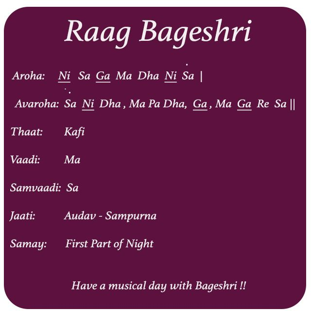 Raag Bageshri Introduction