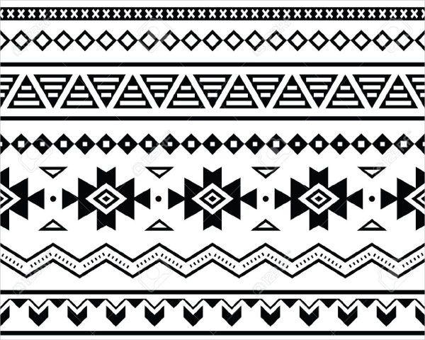 Tribal Pattern Seamless Pattern Tribal Tribal Art Geometric Pattern Vintage Pattern Triangle D Tribal Pattern Art African Pattern Design Tribal Pattern Drawing