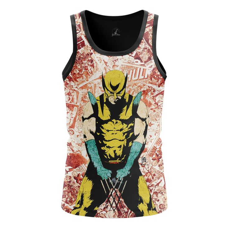 Marvelous Mens Tank Wolverine 2 Logan Xmen 2 – Search tags: