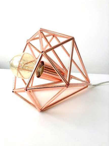 Himmeli light Cage table lamp industrial metal minimal table lamp light…