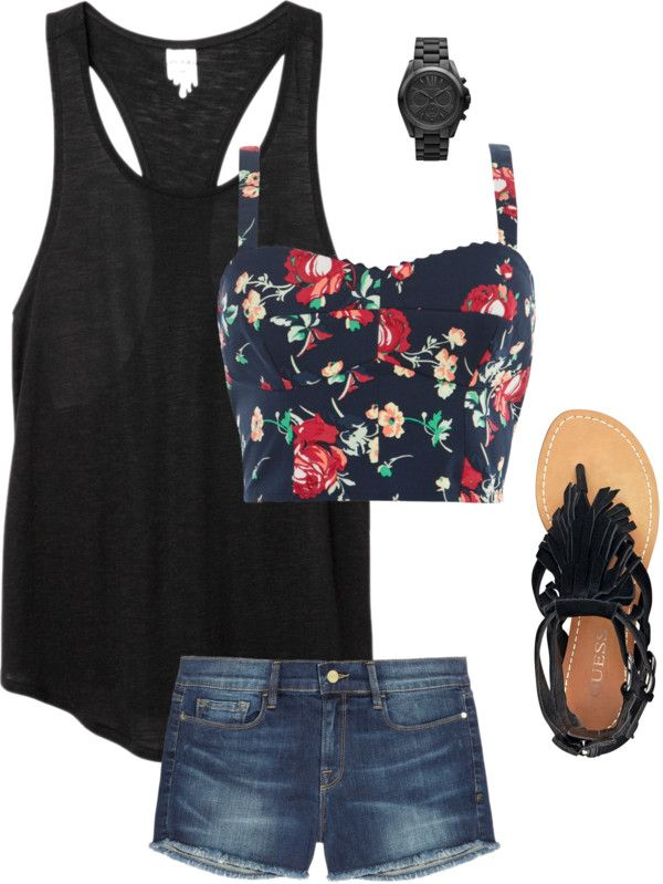 """Summer Outfit"" by andrea-baldwin on Polyvore"