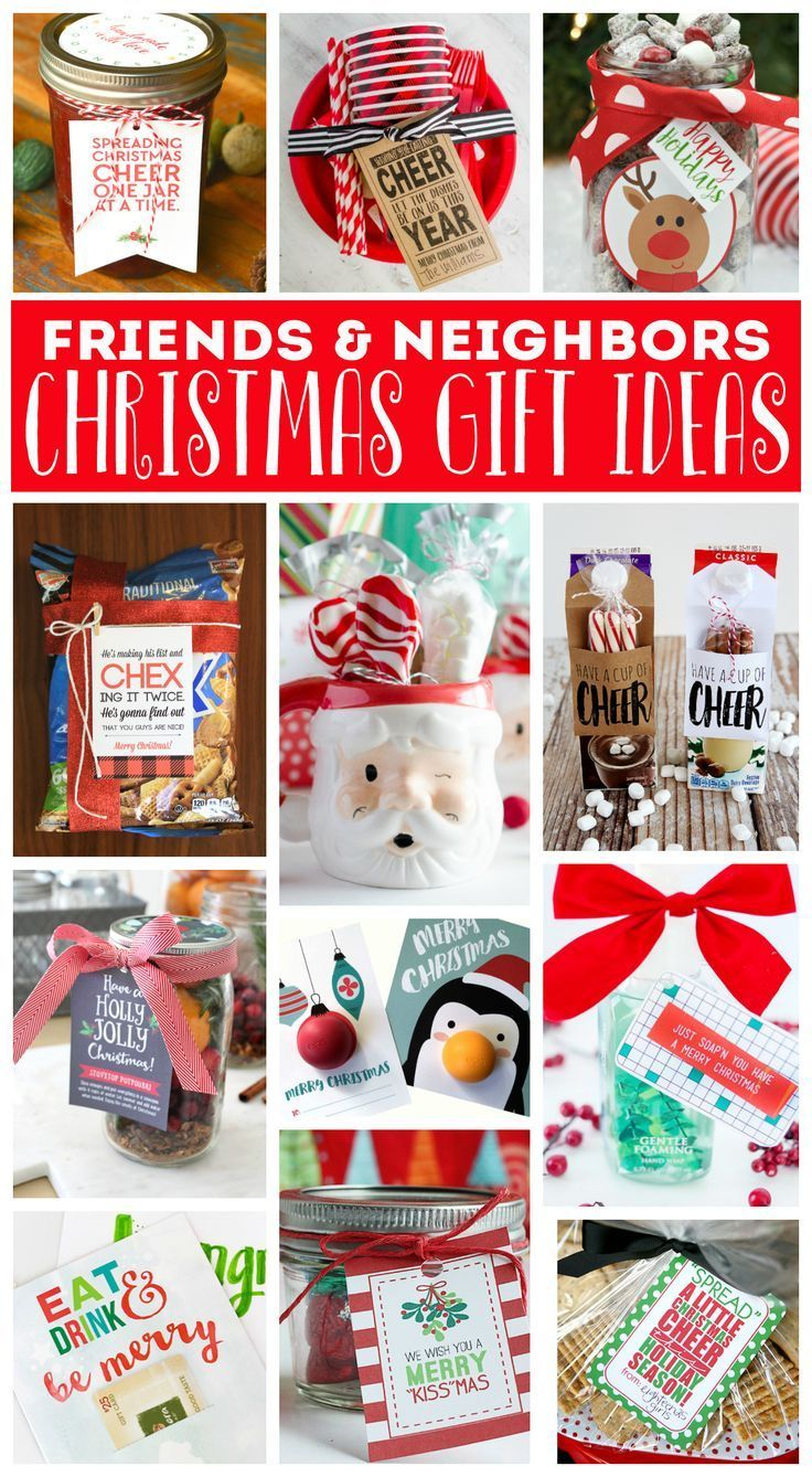 Neighbor Christmas Gift Ideas | stuff to give as gifts | Pinterest ...
