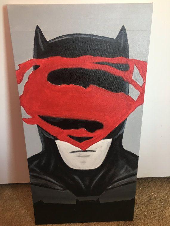 Vs Batman Dark Knight Superman hombre de acero por BlackHoodieArt