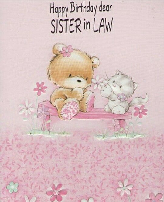 22 Best Birthday Wishes For Sister In Law Pictures Images