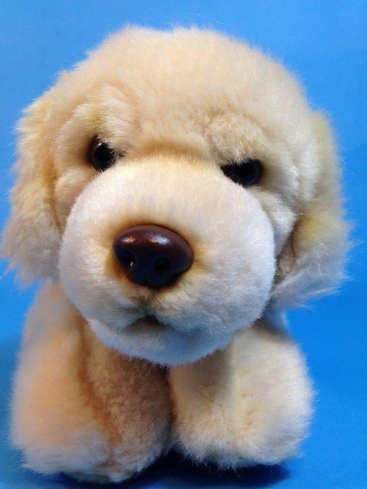 Webkinz Signature Dog Golden Retriever Plush WKSS2004 Ganz Stuffed Small NO CODE #Webkinz