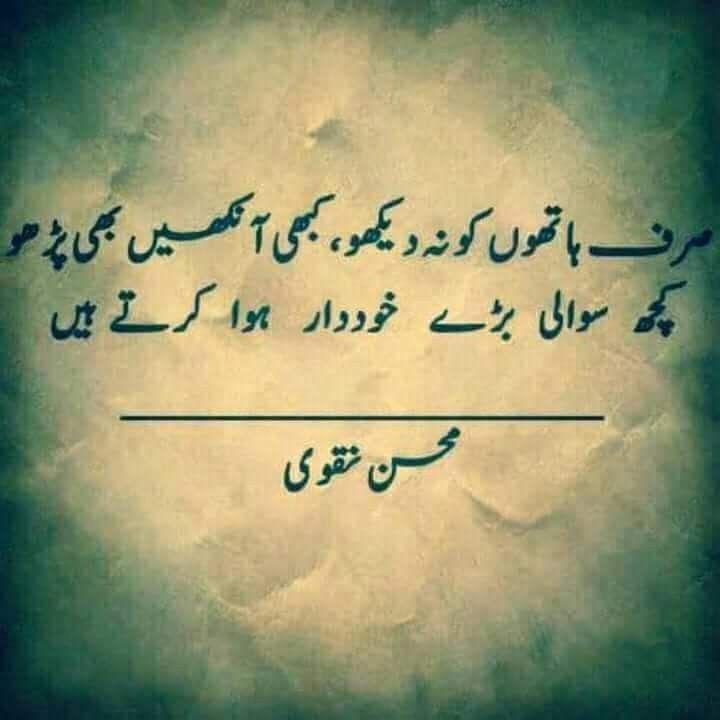 Meri diary se | My diary | Mohsin naqvi poetry, Poetry, Urdu poetry