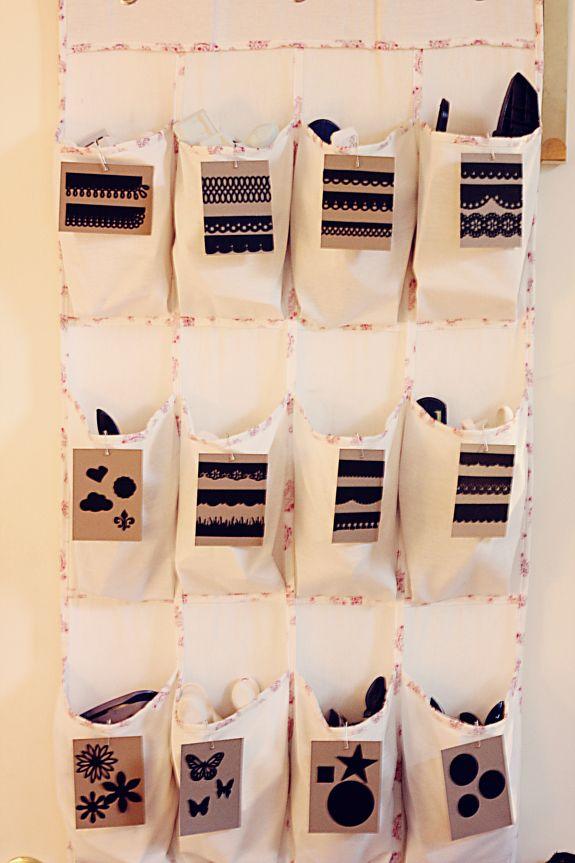 Punch Storage: Crafts Ideas, Crafts Rooms, Crafts Spaces, Crafts Storage, Rooms Ideas, Clever Crafts, Storage Ideas, Scrapbook Paper Crafts, Punch Storage