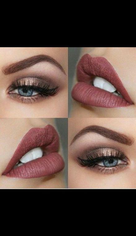 Braut Make-up Blaue Augen Braunes Haar Produkte 50 Ideen #Augen #Blau #Brauen …   – Lester Kelsen