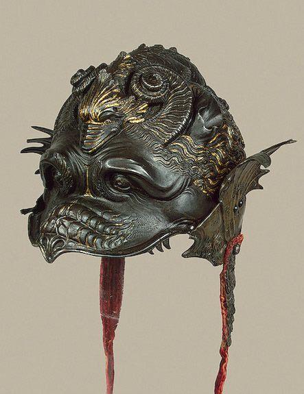 Burgonet helmet ca. 1535 via The Hermitage Museum