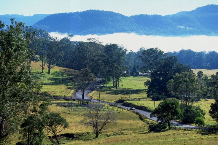 Kangaroo Valley countryside