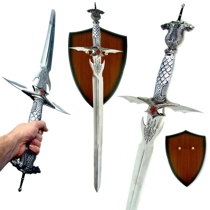 celtic dragon sword