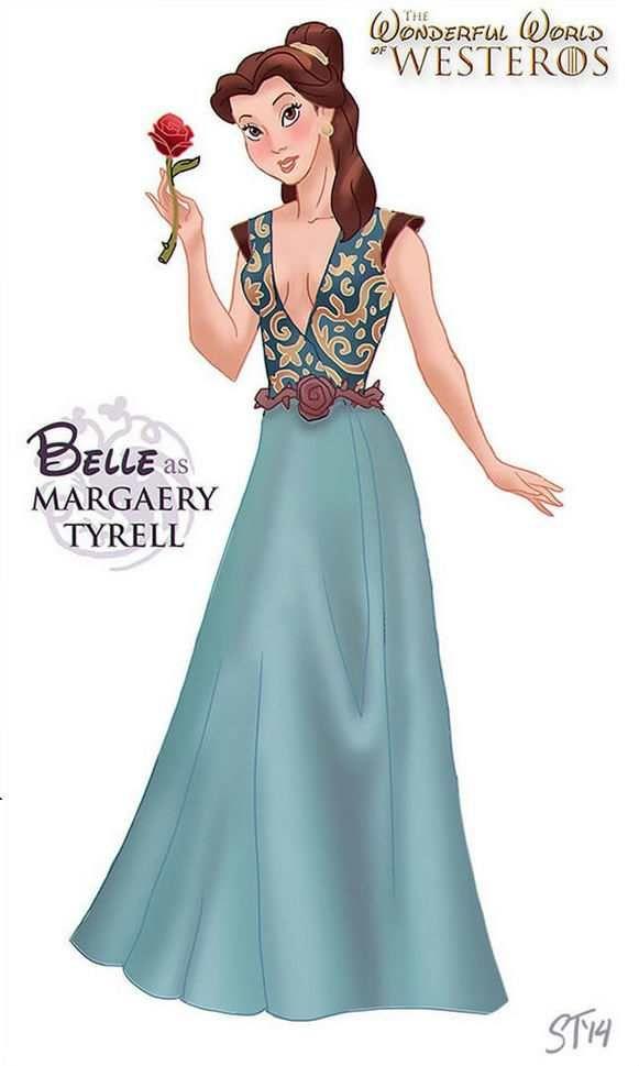 Game Of Thrones Disney Princesses Of Westeros