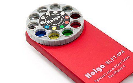 Holga iPhone Lens Filter Kit SLFT-IP4, $25 after I get my new iPhone...