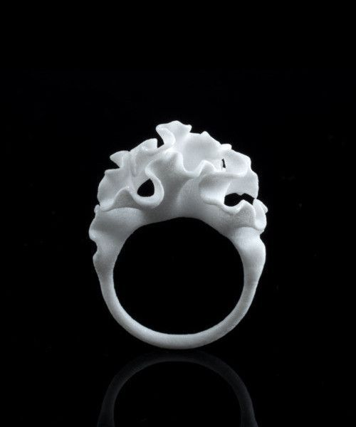 Cnidaria 3D-Printed Ring Maybe something for 3D Printer Chat?