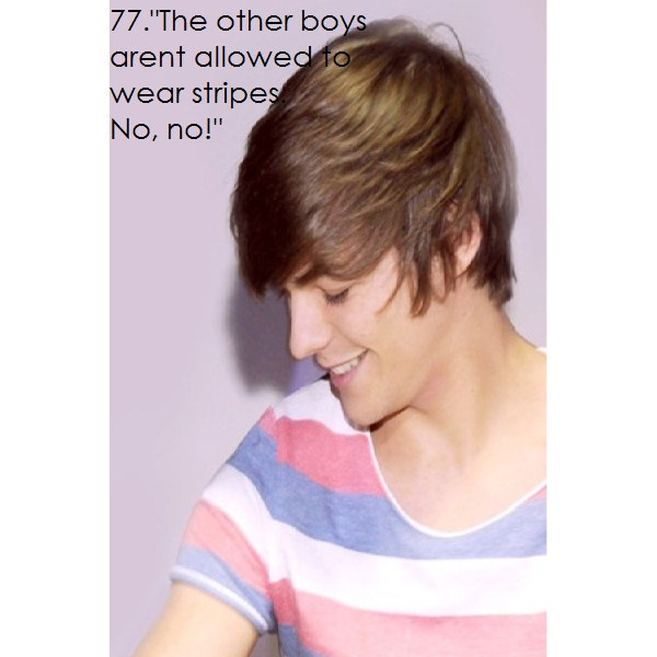 One Direction Facts - Louis Tomlinson Facts ❤ liked on Polyvore