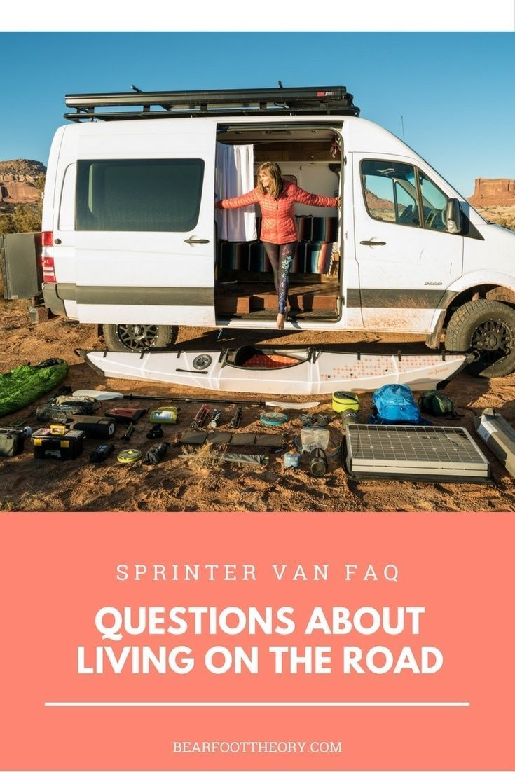 6a68f1ca4b Curious about van life  Get answers in this Sprinter Van FAQ. How to find  campsites