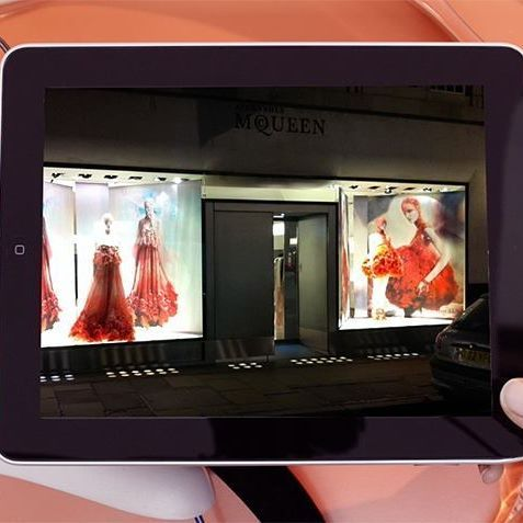 We help some of the biggest names in luxury fashion to reach Visual Merchandising Nirvana, including @WorldMcQueen!